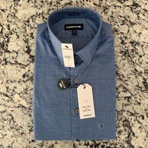 Express - Men's 1MX Dress Shirt, extra slim size m